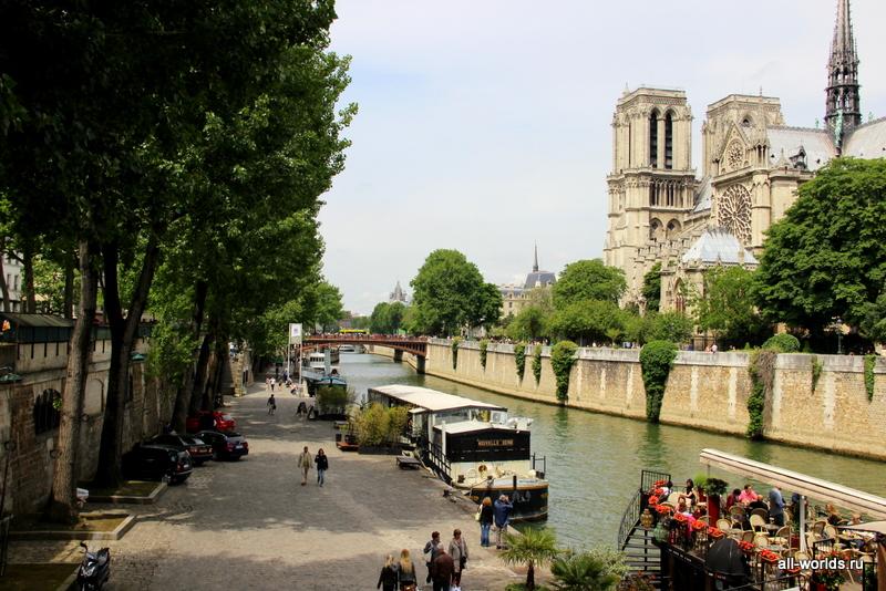 Париж весной картинки
